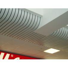 Реечный потолок «Криволинейные» (Радиусные)