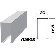 Реечный потолок «Кубообразная рейка» A250S (комплект)