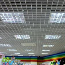 Комплект потолка Грильято (Ячейки 50x50, 75х75, 100х100, 200x200)