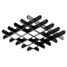 Светильник светодиодный для Грильято PIX-8 48Вт 6400лм 4000К/5000К Белый/Черный